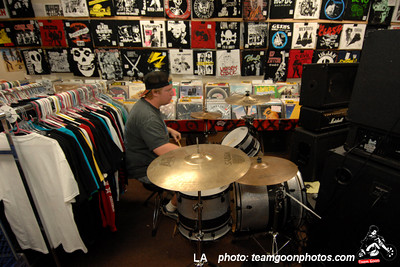 Tipper's Gore Record Release at Vinyl Solution Records in Huntington Beach, CA June 19, 2007