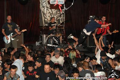 Youth Brigade - at Safari Sams - Hollywood, CA - October 19, 2007