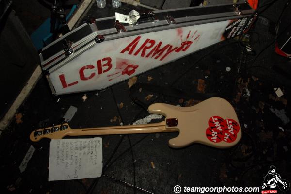 Lower Class Brats - Throwrag - at Safari Sam's - Hollywood, CA - April 26, 2008