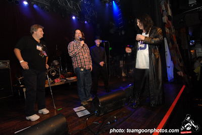 - Super BIG thanks to the folks at Schecter Guitars for throwing a bitchen party - The Adicts - at The House of Blues - Anaheim, CA - January 19, 2008