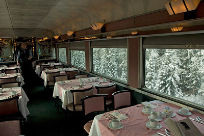 Eating at home will never do after having this dining car.