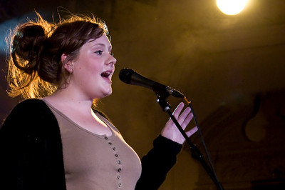 Adele performing at Bush Hall - 25th July 2008