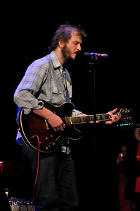 Bon Iver performing at Victoria Apollo - 07/12/08