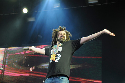 Counting Crows performing @ Wireless Festival 6th July 2008