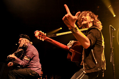 Gogol Bordello performing at the Roundhouse - 18/12/08