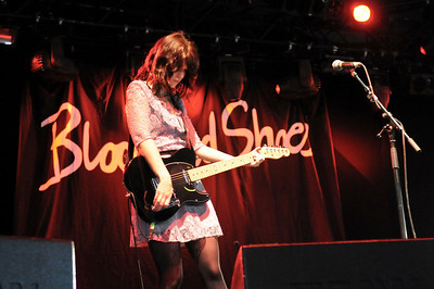 Blood Red Shoes performing at Reading 2008