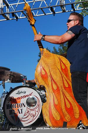 Reverend Horton Heat - 2009 Hootenanny - at Oak Canyon Ranch - Irvine, CA - July 4, 2009