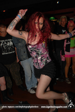 Choking Susan - The after show at West Rock Cafe - Rebellion Festival 2009 - Blackpool, UK - August 6, 2009