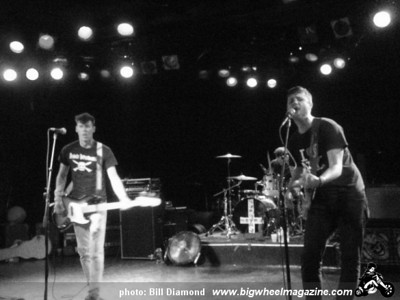Anti Nowhere League - Duane Peters Gunfight - at The Roxy - Hollywood, CA - July 4, 2009