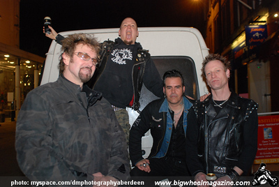 Anti-Nowhere League - at The Citrus Club - Edinburgh, Scotland - March 20, 2009
