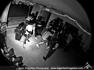 Cat Party - Tragic Ends - Roofie and The Nightstalkers - No Spectators - Joe's Garage - at at the Unity Church basement - Long Beach, CA - November 14, 2009