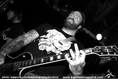 Every Time I Die - at The Tunnels - Aberdeen, UK - May 7, 2009