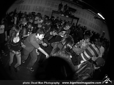 JFA - The Outsiders - Joe's Garage - CCD - Media Blitz - at The Piratical Warehouse - Santa Ana, CA - January 16, 2009