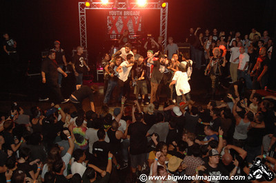 Youth Brigade - at The Montalban Theatre - Hollywood, CA - September 10, 2009