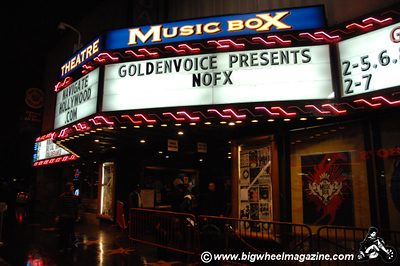 NOFX - Youth Brigade - Channel 3 - SIN 34 - at The Fonda Theater - Hollywood, CA - February 5, 2009