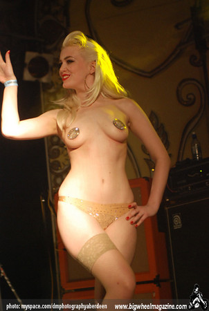Zara Ann Burlesque - Rebellion Festival 2009 - Blackpool, UK - August 7, 2009