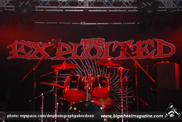 The Exploited - Rebellion Festival 2009 - Blackpool, UK - August 7, 2009