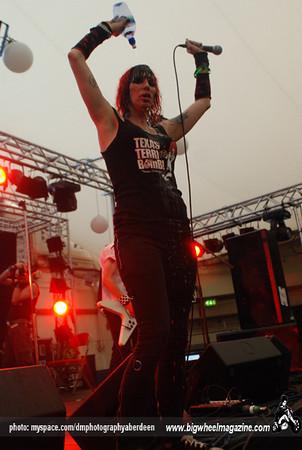 Texas Terri Bomb - Rebellion Festival 2009 - Blackpool, UK - August 8, 2009