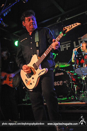 Stiff Little Fingers - at The Warehouse - Aberdeen, UK - October 15, 2009