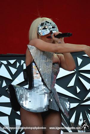 Lady Gaga - T In The Park Festival - Balado, Kinross-shire, Scotland - July 11, 2009