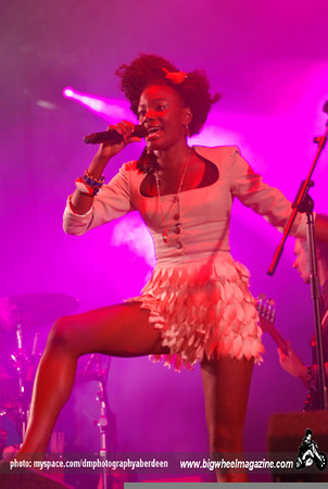 The Noisettes - T In The Park Festival - Balado, Kinross-shire, Scotland - July 11, 2009