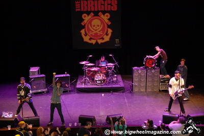 The Briggs - Nokia Theater - Los Angeles, CA - January 10, 2009