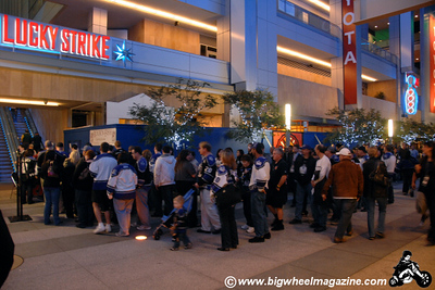 The L.A. Kings Official Tailgate Party - Nokia Theater - Los Angeles, CA - January 10, 2009