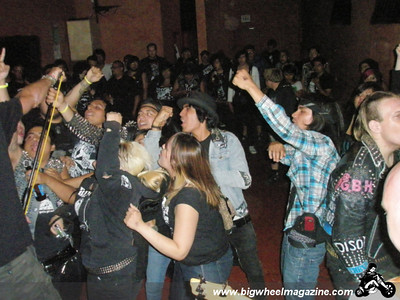 Uproar - The Pogo - Ratas - Polisktizo - Skeptical Youth - at The Blvd Cafe - July 8, 2009
