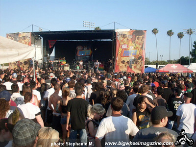 VANS Warped Tour - at The Pomona Fairplex - Pomona, CA - June 26, 2009