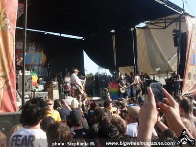 VANS Warped Tour - at The Pomona Fairplex - Pomona, CA - June 26, 2009