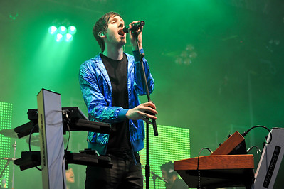 Calvin Harris performing at BBC Radio 1 Big Weekend - 09/05/09