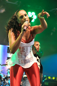 Alesha Dixon performing at the BBC Radio 1 Big Weekend - 10/05/09