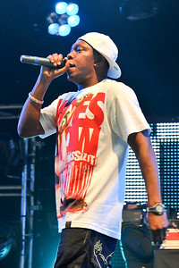 Dizzee Rascal performing at BBC Radio 1 Big Weekend - 09/05/09