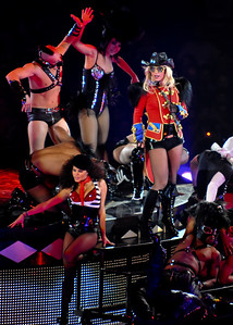 Britney Spears performs at The O2 Arena, London - 03/06/09