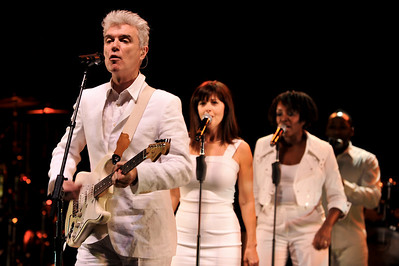 David Byrne performing at Royal Festival Hall, London - 12/04/09