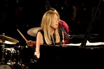 Diana Krall performing at the BBC Maida Vale Studios - 31/05/09