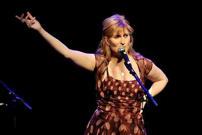 Eddi Reader performing at Queen Elizabeth Hall, London - 26/05/09