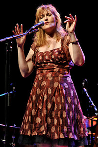 Eddi Reader performing at Queen Elizabeth Hall, London - 26/05/09