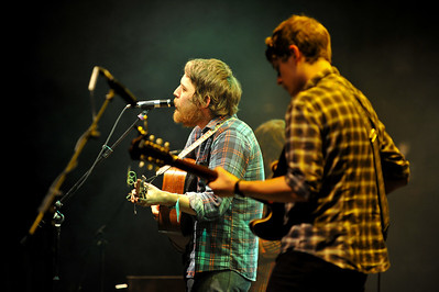 Fleet Foxes performing at the Roundhouse - 22/02/09
