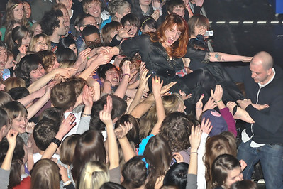 Florence & the Machine performing at Birmingham O2 Academy (NME Shockwaves Tour) - 4th Feb 2009