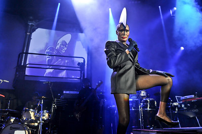 Grace Jones performing @ the Roundhouse - 28/01/09