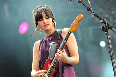 Howling Bells perform at Hard Rock Calling 2009 - 26/06/09