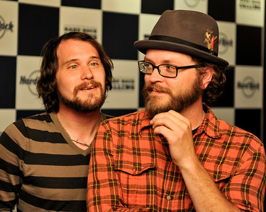 Silversun Pickups perform backstage at Hard Rock Calling 2009 - 26/06/09