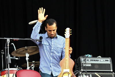 Ben Harper performs on stage at Hard Rock Calling 2009 - 27/06/09