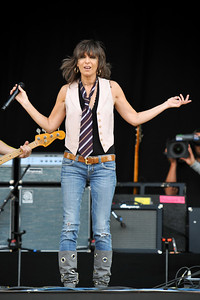 The Pretenders perform @ Hard Rock Calling 2009 - 27/06/09