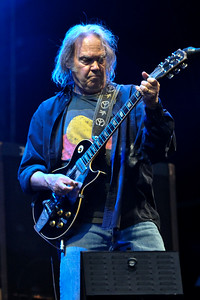 Neil Young performs at Hard Rock Calling 2009 - 27/06/09