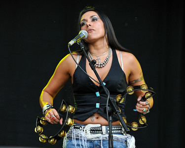 Jean Beauvoir & Micki Free perform at Hard Rock Calling 2009 - 28/06/09
