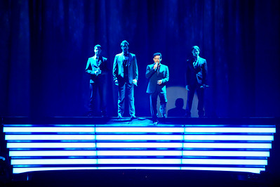 Il Divo performing at the O2, London - 27/02/09