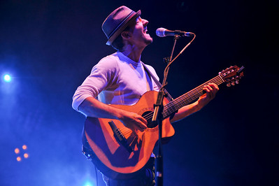 Jason Mraz performing at Hammersmith Apollo - 05/04/09
