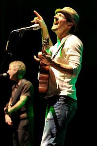 Jason Mraz performing at Hammersmith Apollo - 05/04/09